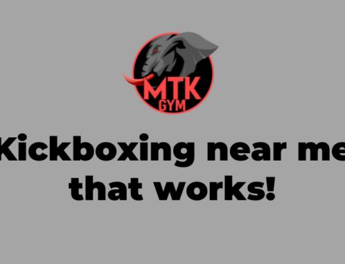 Kickboxing Near Me That Works