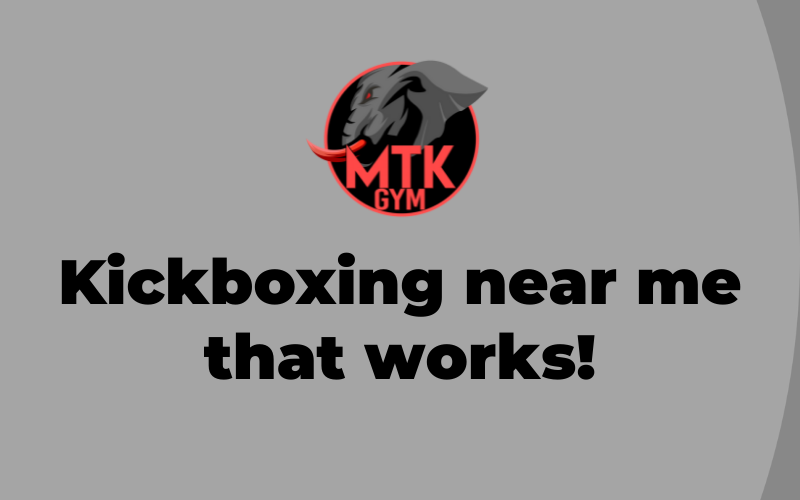 Kickboxing Near Me That Works Blog Cover